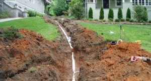 sewer line repairs and replacments